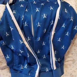 Blue track jacket jsc